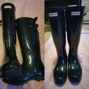 Shoes - Tall Hunter Rain Boots